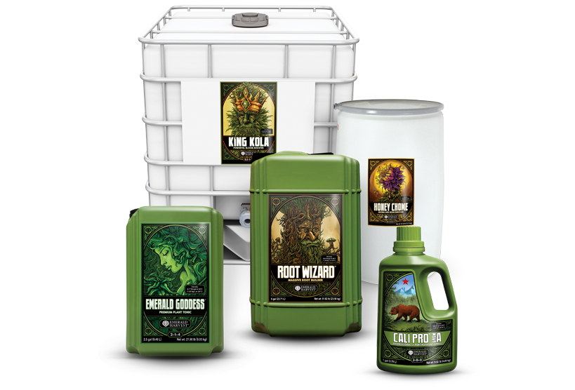 Image of Emerald Harvest products