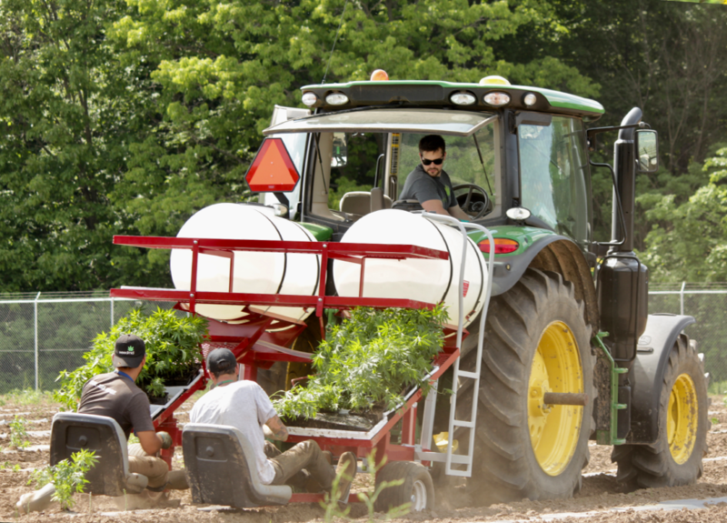 Tractor planting image